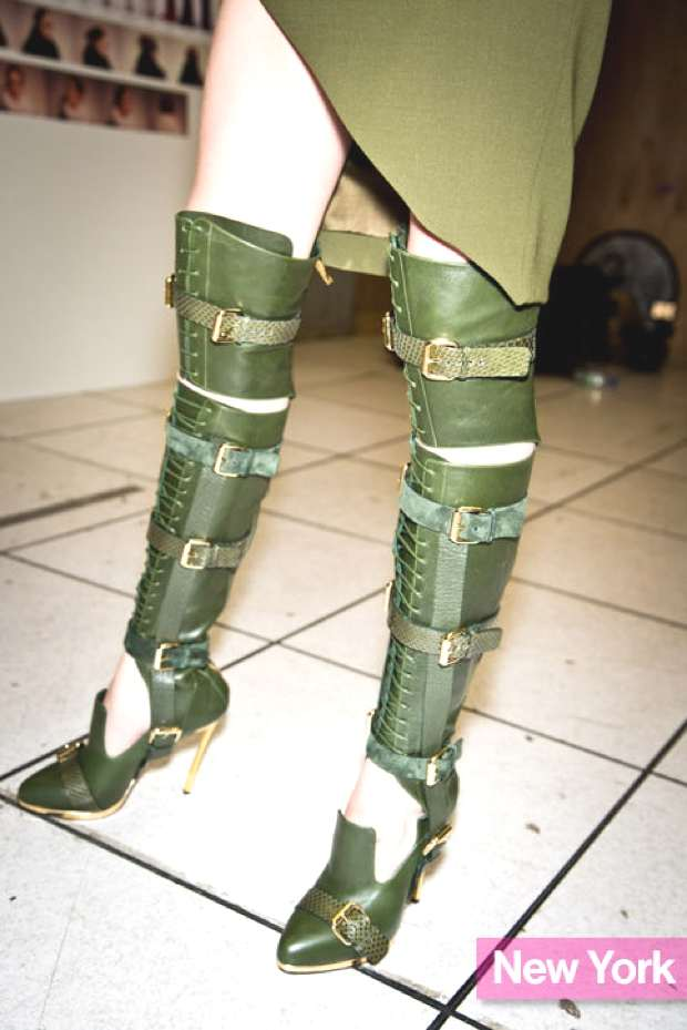 Over the knee Prabal Gurung