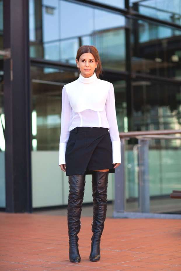 Over the knee boots 2013-14