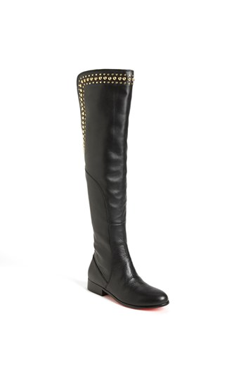 Over the knee boots with studs by Betsey Johnson 180 euro