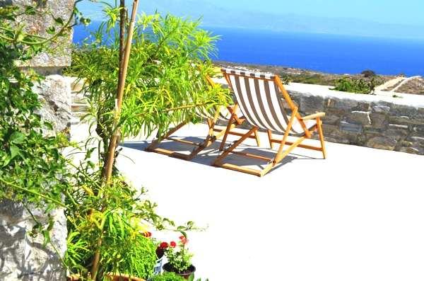 Paros Interior Decoration- Greek Island Shabby Chic- Ysterni view
