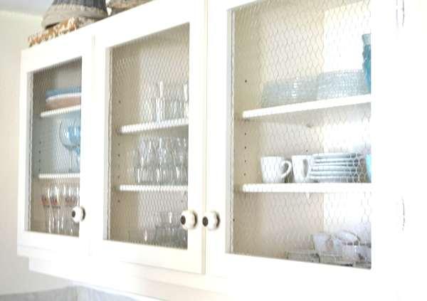 Shabby chic kitchen cupboards
