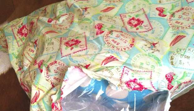 Cath Kidston delivery package