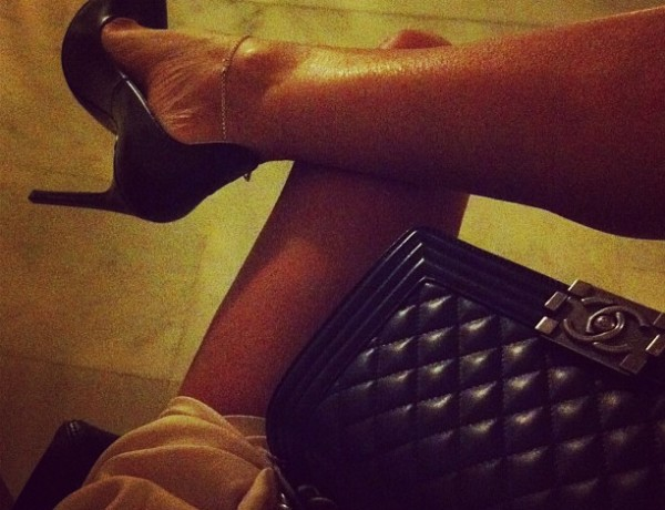 Chanel Boy and Saint Laurant pumps