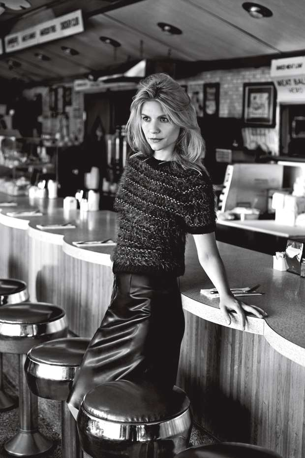 Claire Danes for Vogue.UK November 2013 issue