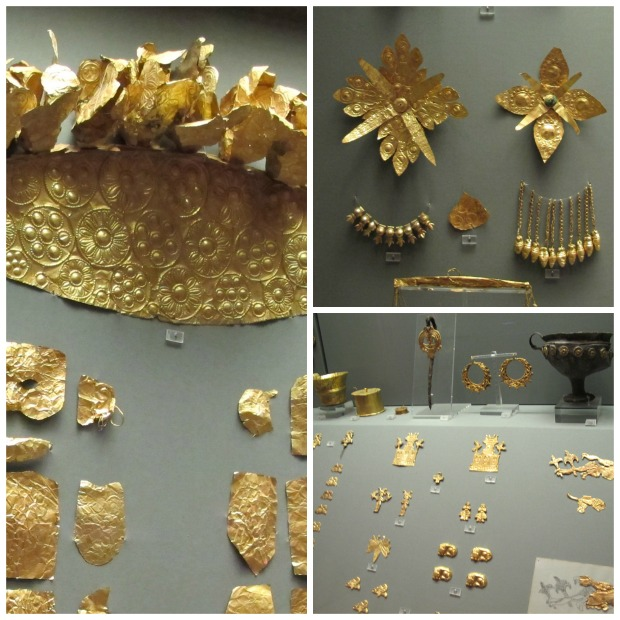 Gold Jewelry Museum Collage
