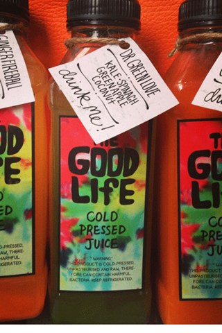 Good Life Juices from London Fashion Week