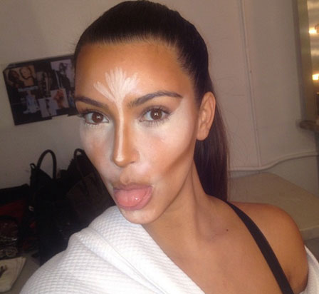 Kim Kardashian Makeup Tricks