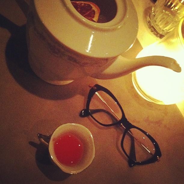 Miu Miu glasses and cocktails