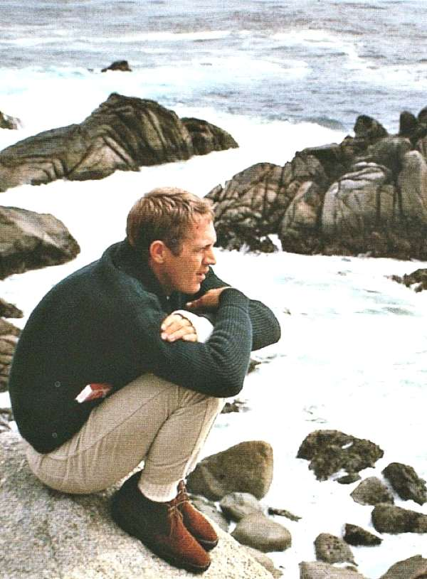 Steve McQueen sport winter look