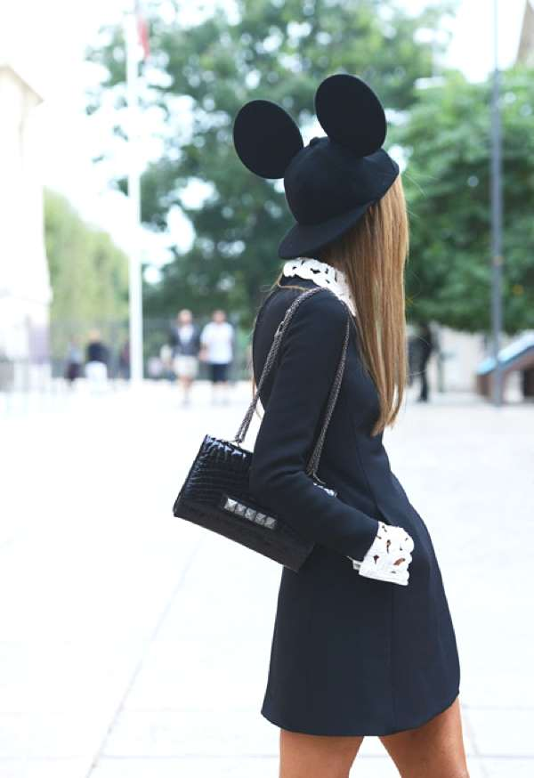 Valentino_bag_ mouse hat- Fun Fashion Trends