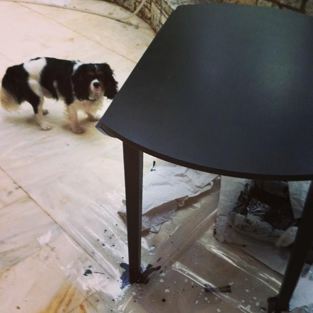 table black