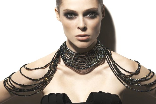 Coco Rocha smokey eyes