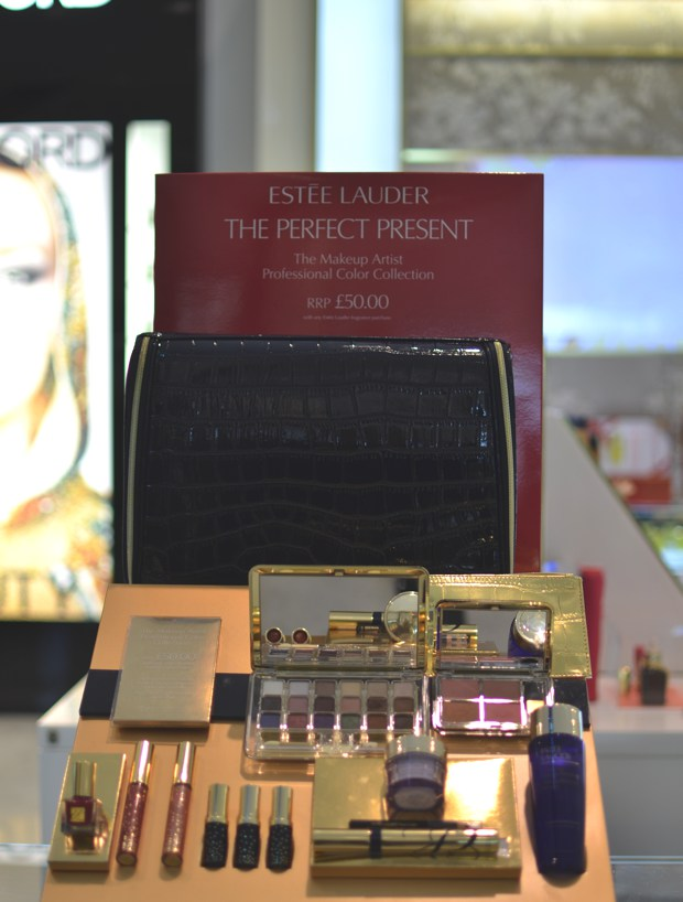 London Shopping and My Estee Lauder Festive Makeup Kit