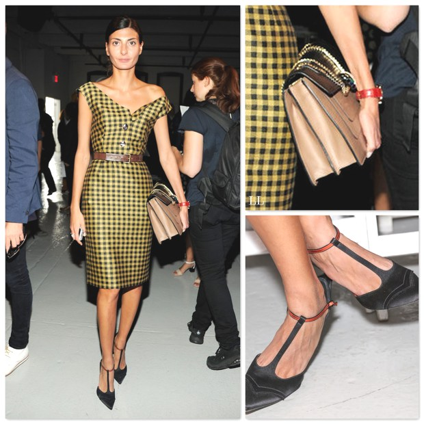 Giovanna Battaglia- A Style of All Seasons dress Gucci shoes