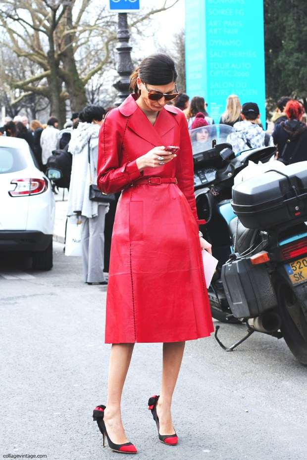 Giovanna Battaglia- A Style of All Seasons red