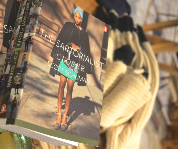London Anthropologie Book Sartorialist