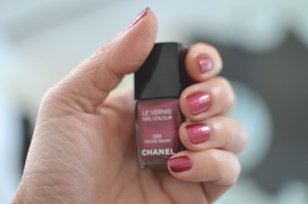 Trendsurvivor- Red Moire Chanel Nail Polish 595