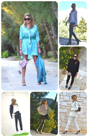 April Street style outfits