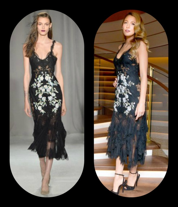 Blake Lively -Marchesa
