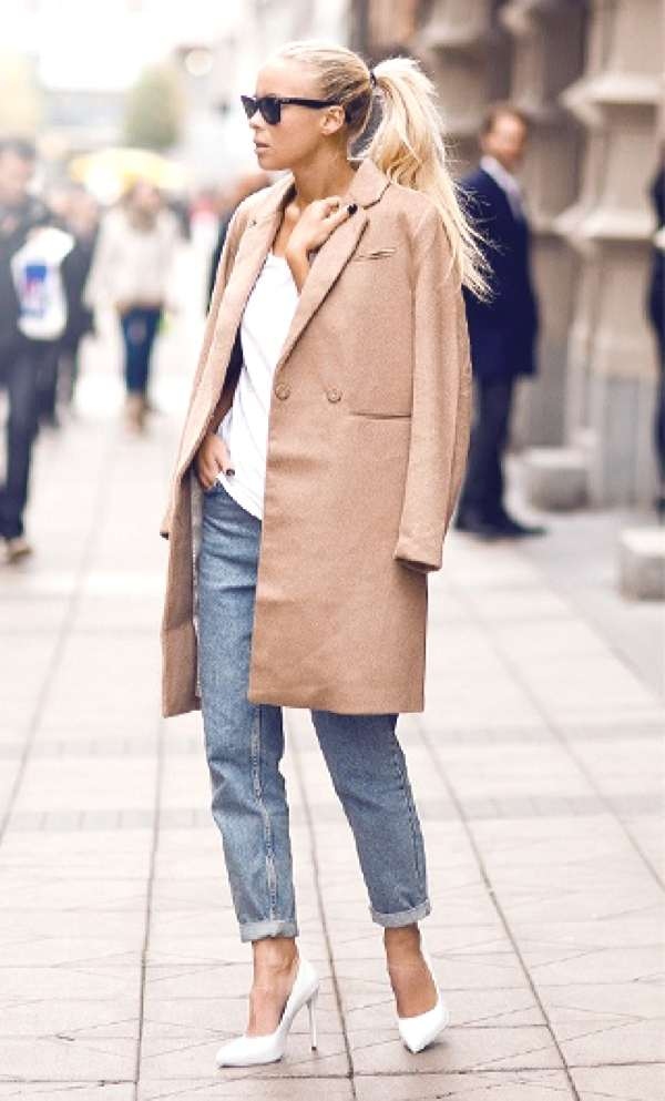 Blogger Victoria Tornegren classic camel