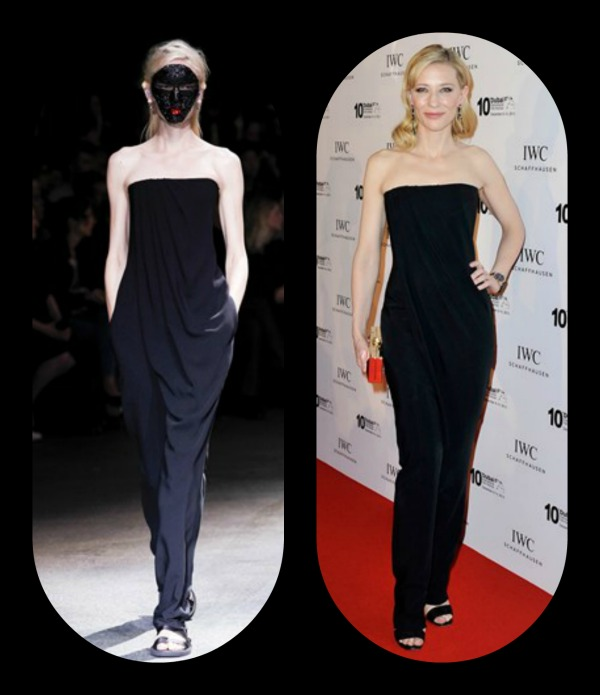 Cate Blanchett -Givenchy by Riccardo Tisci jumpsuit