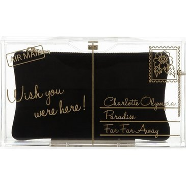 Wish you were here Charlotte Olympia Clutch