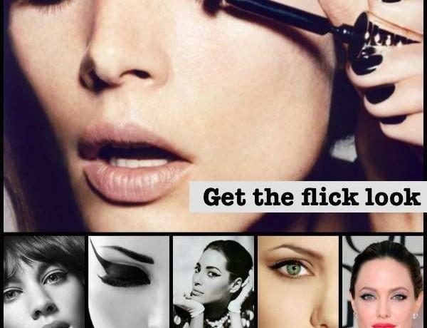 Flick Eyeliner look