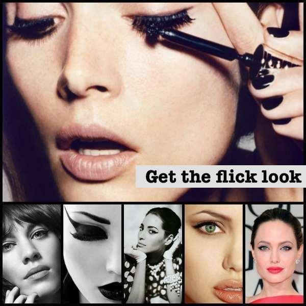 Flick eyeliner looks