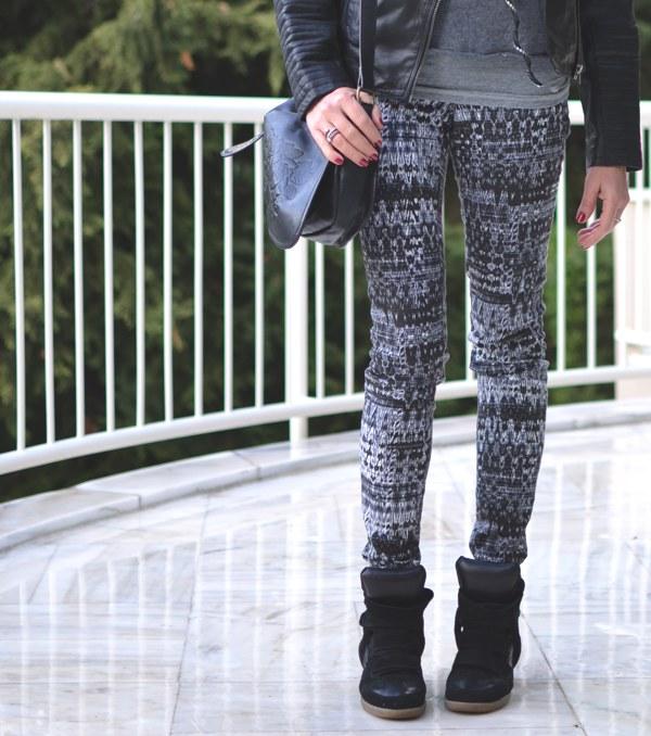 HM skinny pants