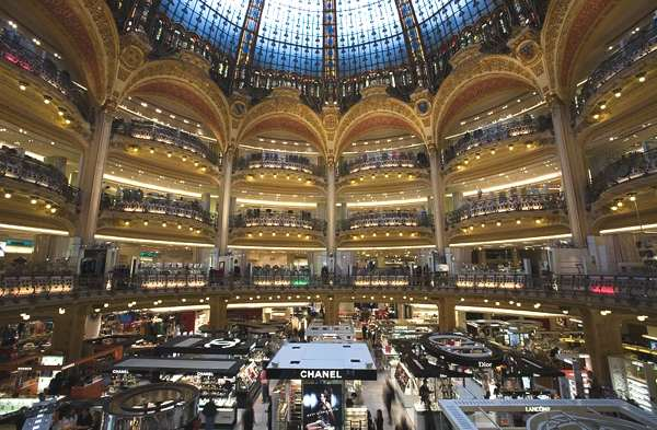 Holiday Shopping in Paris