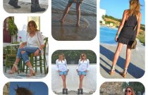 2013 July- Outfit Posts in the Greek Islands
