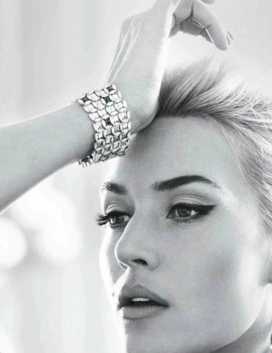 Kate Winslet by Lisa Eldridge Harpers Bazaar