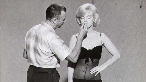 Marilyn Monroe and Alan Snyder makeup