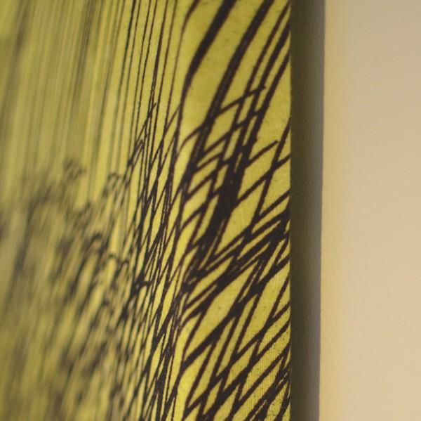 Home Decor DIY- A Marimekko Textile Painting