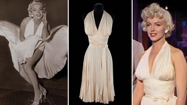Marylin Monroe pleated dress