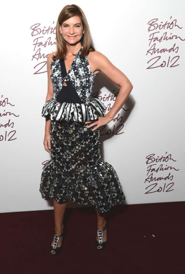 Natalie Massenet ruffle dress