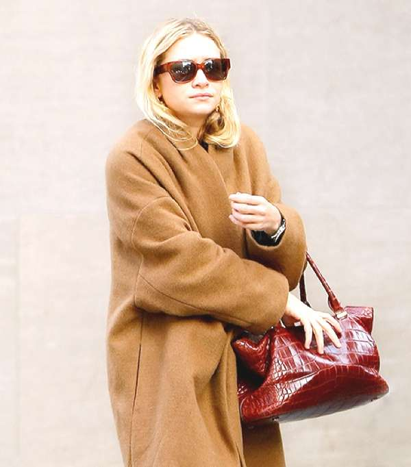 Olsen camel coat