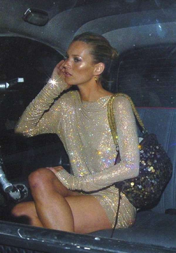 Sequins sparkle and shine dress kate Moss