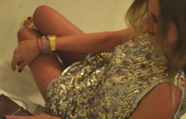 PS (Personal Style)- Christmas Sparkling Silver and Gold Sequin