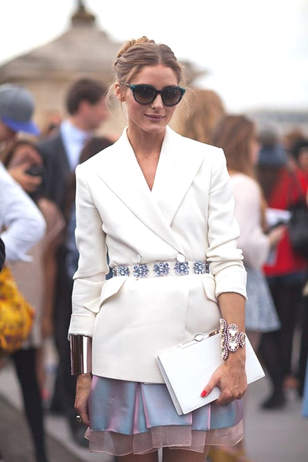 The blazer Olivia Palermo