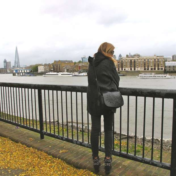 London Thames winter outfit
