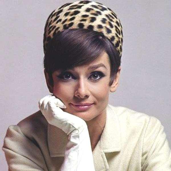 Audrey Hepburn leopard hat
