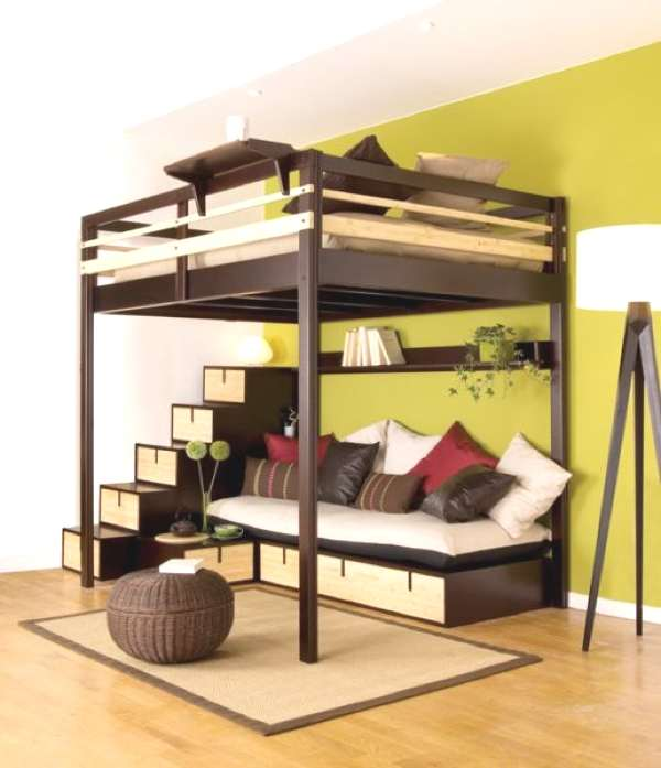 bed small space