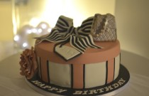 My Stylish Birthday Cake in Powder Pink from Niki