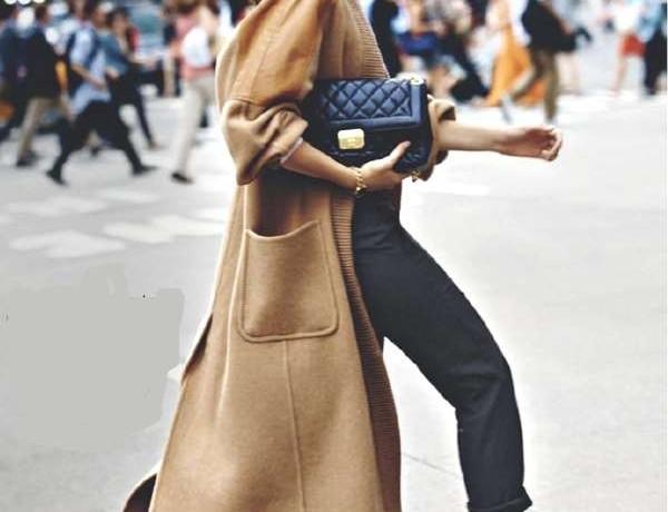 camel coat sneaker 2013 street style