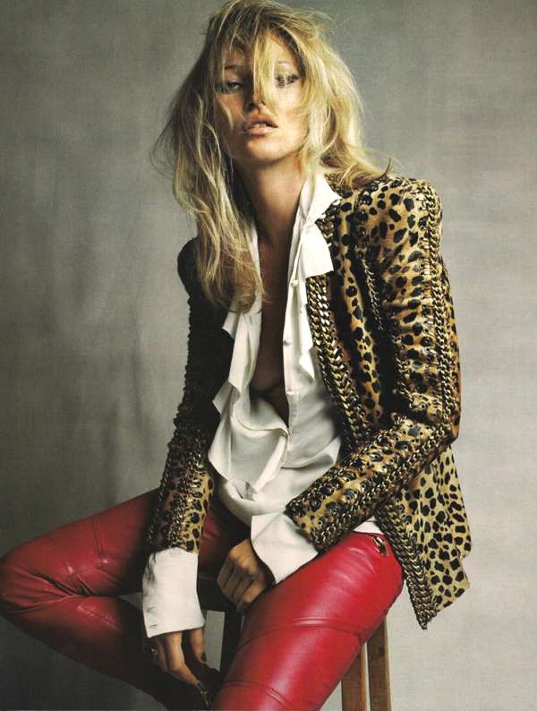 Kate Moss leopard jacket