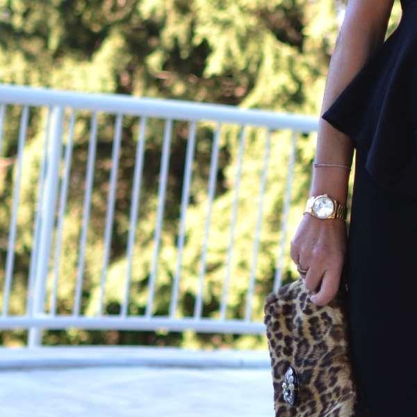 leopard bag -rolex
