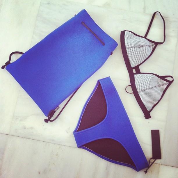 Instagram Recap- Best of August- triangl swimsuit