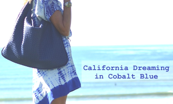 California Dreaming in Colabt blue