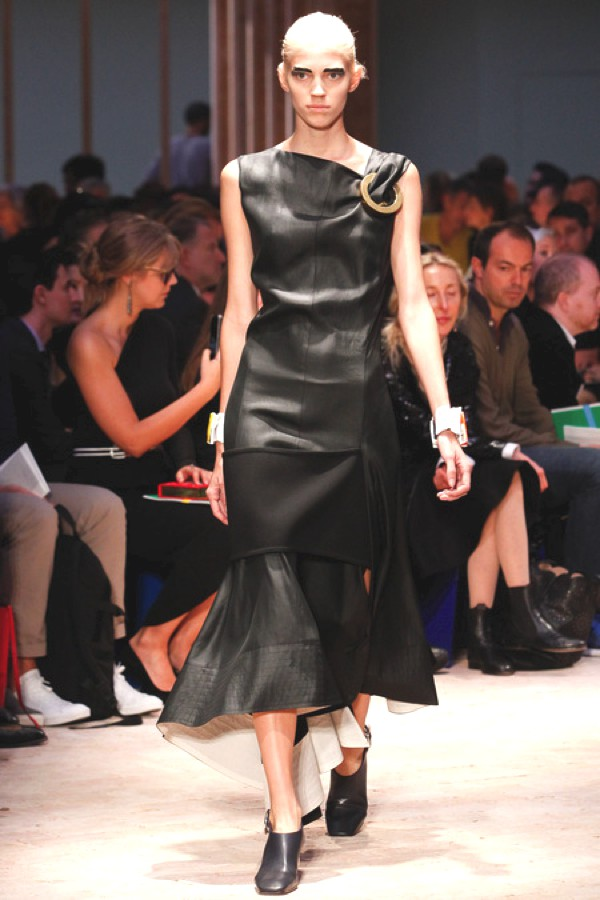 Celine SS 2014, leather dress